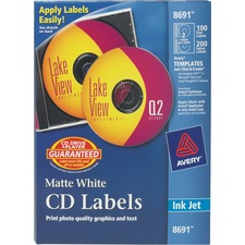 CD Labels, Matte ,