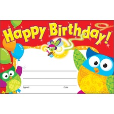 Happy Birthday Owl-
